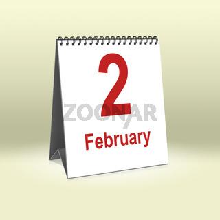 February 2nd   2. Februar