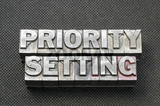 priority setting bm