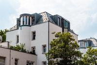 Modern residential buildings in Berlin Mitte, Germany