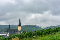Ahrweiler in the Valley of the Ahr in Germany