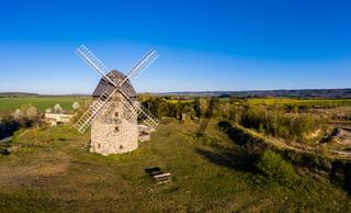 Luftbild Warnstedt Windmühle Teufelsmühle Warnstedt Thale