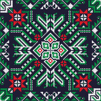 Romanian traditional pattern 194