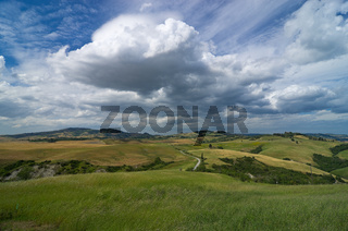 Landschaft in der Toskana, Italien - Landscape in tuscany, italy