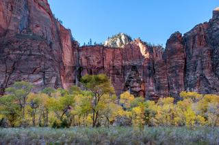 Pulpit Rock in Zion National Park