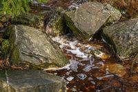 Rocks and babbling brook