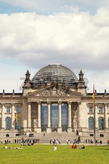 Reichstag Berlin Deutschland / Reichstag Berlin Germany