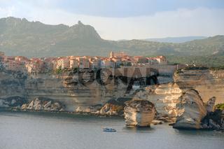 Bonifacio on Corsica