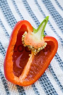 Cut Red Pepper