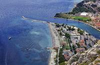 Omis Town Dalmatia Region of Croatia