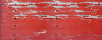 Old wood board painted red. Banner background
