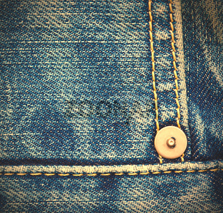 blue jeans, close up