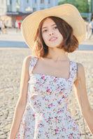 pretty summer girl