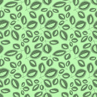 Square, seamless pattern, leaf pattern. Background for site or blog, textiles, packaging, interior drawing, wallpaper