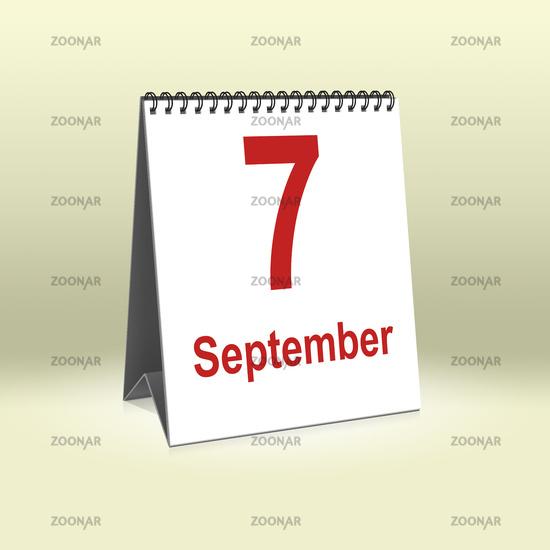 September 7th | 7.September