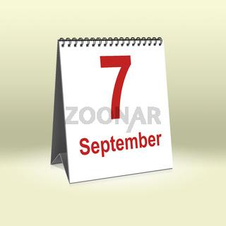 September 7th   7.September