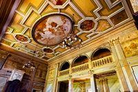 Ceiling in Sharovskiy Castle