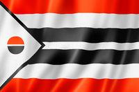 Arapaho people ethnic flag, USA
