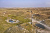 Nebraska Sandhills aerial view