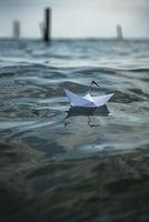 Paper Boat big waves