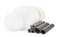 Light insulation for sewage pipes