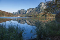 View west over the Alpsee in Bavaria