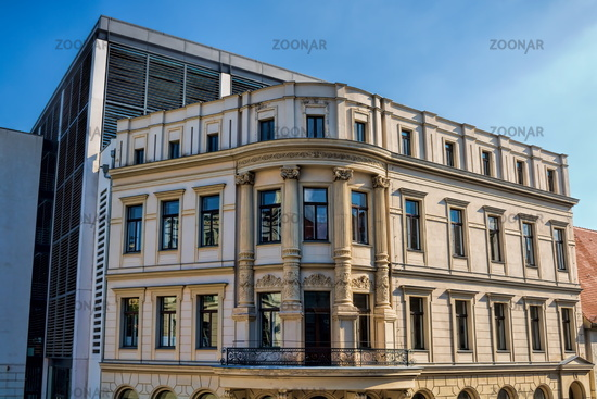 Halle Saale, Germany - 17.06.2019 - historic building of the  university