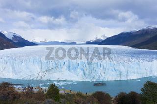 Patagonia, Perito Moreno blue glacier