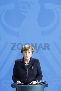 Angela Merkel on the Airplane Crash