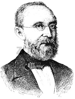 Portrait of Rudolf Ludwig Carl Virchow - a German physician
