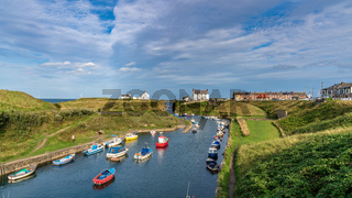 Seaton Sluice, Northumberland, England, UK