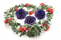 Rose garland for rose buds