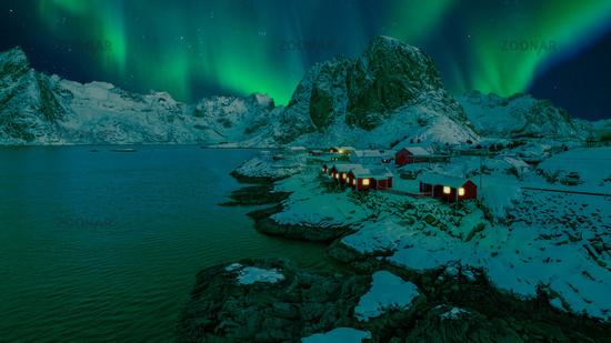 Hamnoy Northern Lights