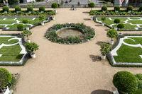Baroque garden in Weilburg Castle