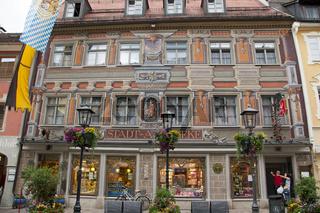 Alte Apotheke, Füssen, Allgäu, Ostallgäu, Bayern, Europa