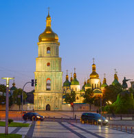 Sophia Cathedral, square. Kiev, Ukraine