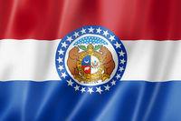 Missouri flag, USA