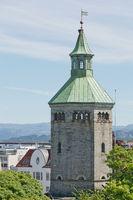 The Valberg tower overlooking town of Stavanger in Norway
