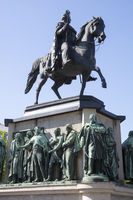Memorial of King Friedrich Wilhelm III. at Heumarkt of Cologne