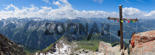 Gipfel Ahornspitze