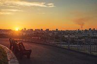 Evening photo of Barnaul