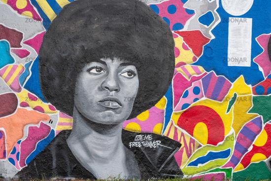 Graffitti Mauerpark in Berlin