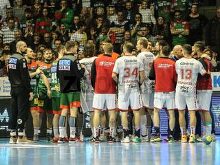 Spieler SC Magdeburg und MT Melsungen  Liqui Moly HBL, Handball-Bundesliga Saison 2019-20
