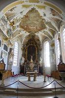 baroque parish church St. Johann Evangelist - Altar