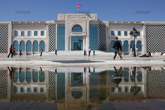 TUNISIA TUNIS CITY KASBAH SQARE
