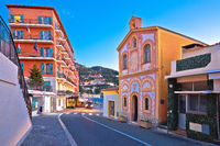 Villefranche sur Mer idyllic French riviera town evening view