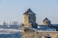 Papal tower of the Kamianets-Podilskyi fortress, Ukraine