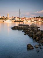 Medieval City of Rab in Croatia