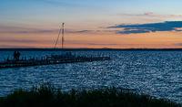 Steinhuder Meer, evening atmosphere