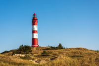 Amrum Lighthouse, Amrum, North Sea, North Frisian Islands, Schleswig-Holstein, Germany