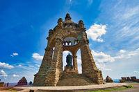 Kaiser Wilhelm Monument in Porta Westfalica North Rhine-Westphalia